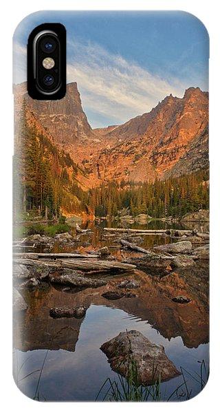Sunrise On Dream Lake IPhone Case