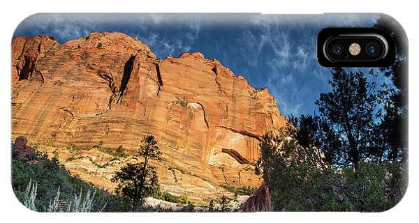 Sunrise On Kolob Arch Trail IPhone Case