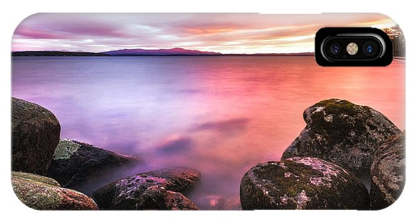 Sunrise On Lake Winnipesaukee IPhone Case
