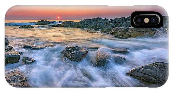 Sunrise On Marginal Way IPhone Case