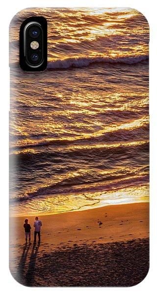 Sunrise On Melbourne Beach IPhone Case