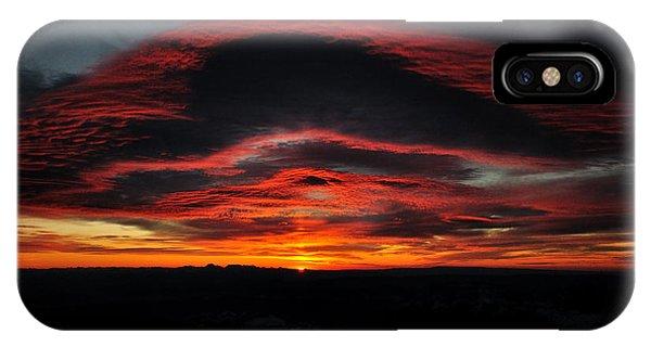 Sunrise On Rainier IPhone Case