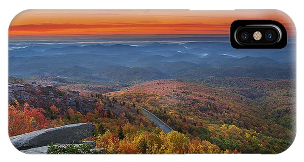 Sunrise On Rough Ridge  IPhone Case