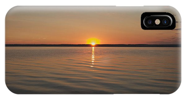 Sunrise On Seneca Lake IPhone Case