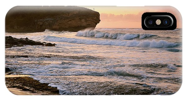 Sunrise On Shipwreck Beach IPhone Case