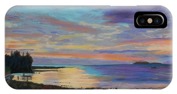 Sunrise On Tancook Island  IPhone Case