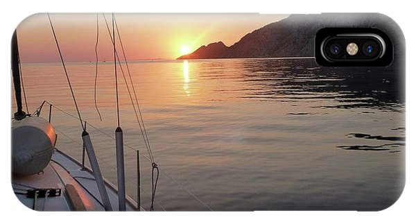 Sunrise On The Aegean IPhone Case