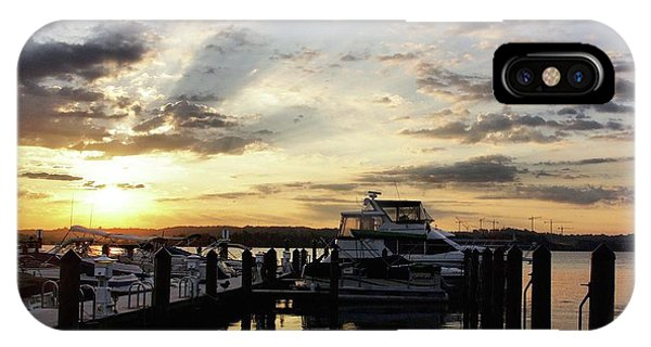 Sunrise On The Alexandria Waterfront IPhone Case