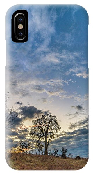 Sunrise On The Back Hill IPhone Case
