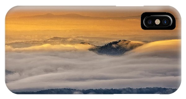 IPhone Case featuring the photograph Sunrise On The Blue Ridge Parkway by Ken Barrett