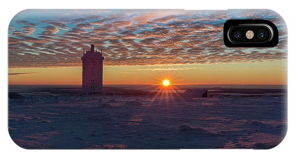 Sunrise On The Brocken, Harz IPhone Case