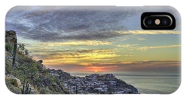 Sunrise On The Coast IPhone Case