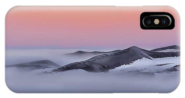 Sunrise On The Dunes IPhone Case