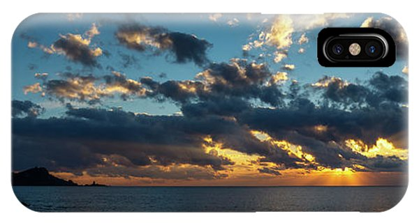Sunrise On The French Riviera IPhone Case