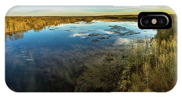 Sunrise On The Lake IPhone Case
