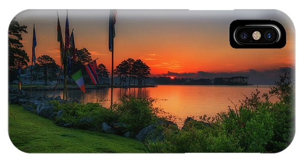 IPhone Case featuring the photograph Sunrise On The Neuse 2 by Cindy Lark Hartman