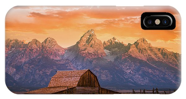 Sunrise On The Ranch IPhone Case