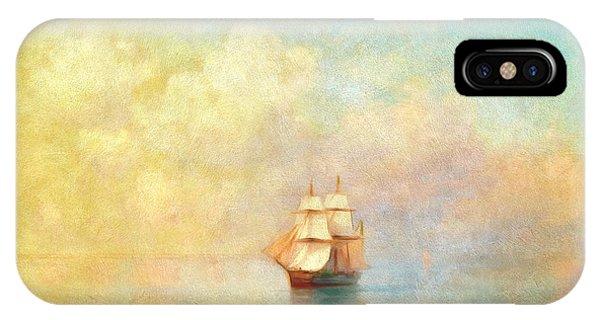 Sunrise On The Sea IPhone Case