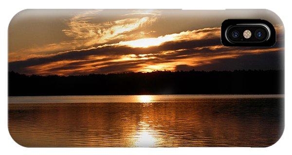Sunrise On The Turtle Flambeau Flowage IPhone Case
