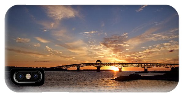 Sunrise On The York River IPhone Case