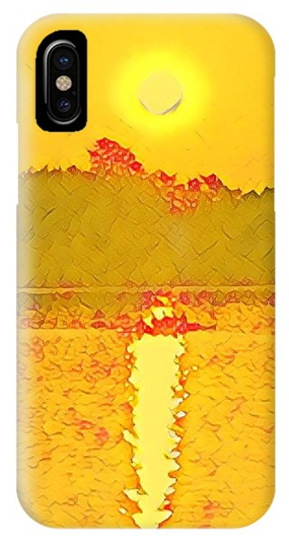 Sunrise On Town Lake IPhone Case
