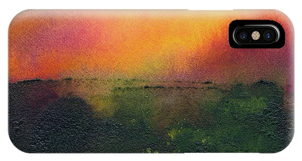 Sunrise Over A Marsh IPhone Case