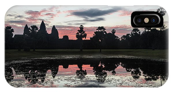 Sunrise Over Angkor Wat IPhone Case