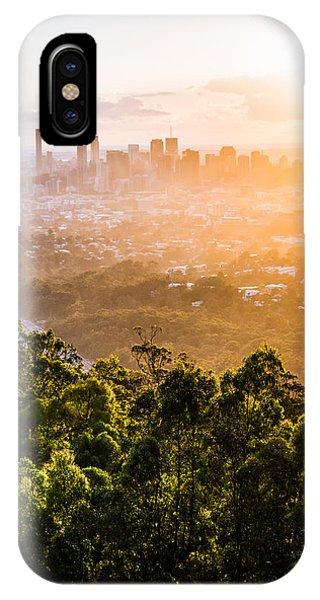 Sunrise Over Brisbane IPhone Case