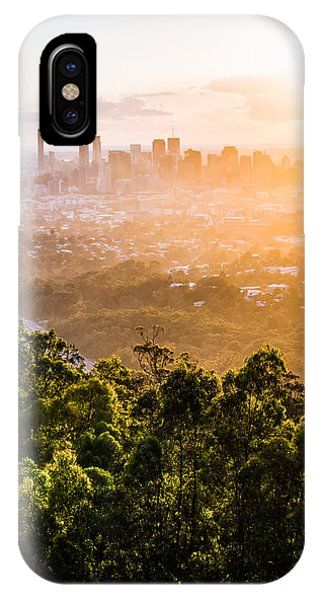 Sunrise Over Brisbane IPhone Case