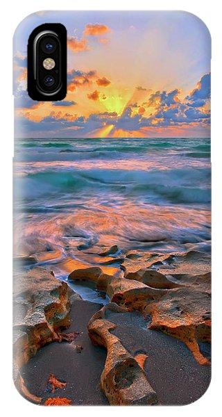 Sunrise Over Carlin Park In Jupiter Florida IPhone Case