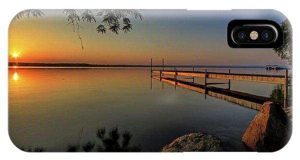 Sunrise iPhone Case - Sunrise Over Cayuga Lake by Everet Regal