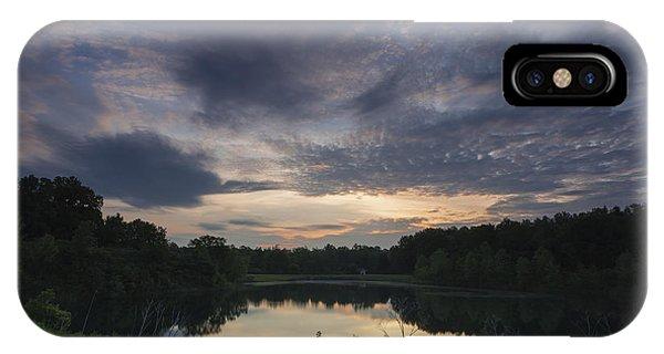 Sunrise Over Indigo Lake IPhone Case
