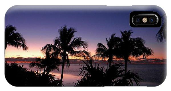 Sunrise Over Key West IPhone Case