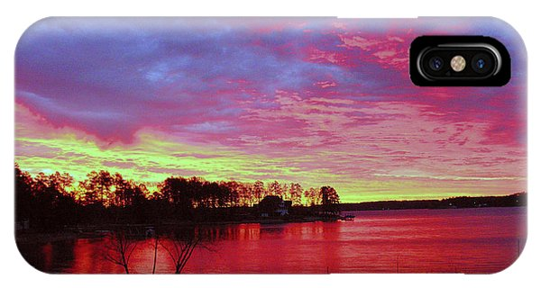Sunrise Over Lake Murray IPhone Case