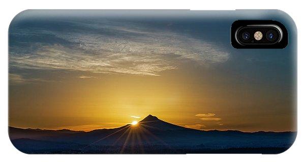 Sunrise Over Mt. Hood IPhone Case
