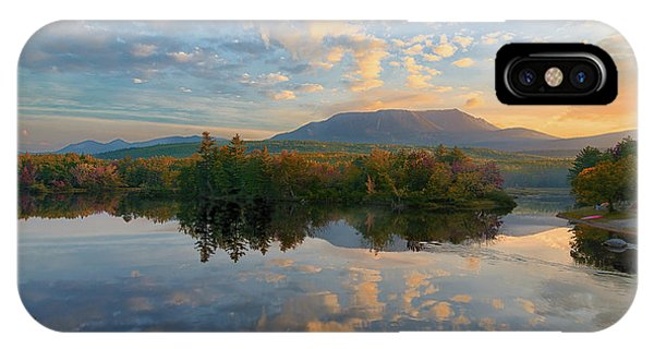 Sunrise Over Mt. Katahdin IPhone Case
