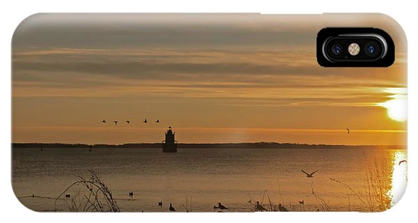 Sunrise Over New Bedford IPhone Case
