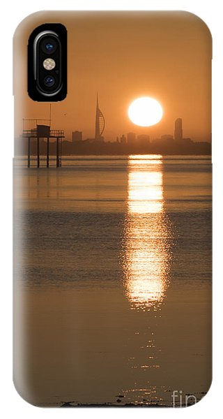 Sunrise Over Portsmouth IPhone Case