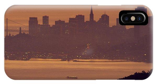 Sunrise Over San Francisco IPhone Case