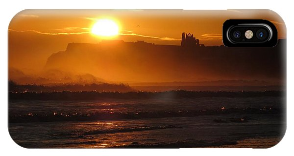 Sunrise Over Sandsend Beach IPhone Case