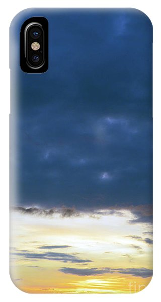 Sunrise Over The Cascades IPhone Case