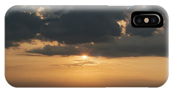 Sunrise Over The Isle Of Wight IPhone Case