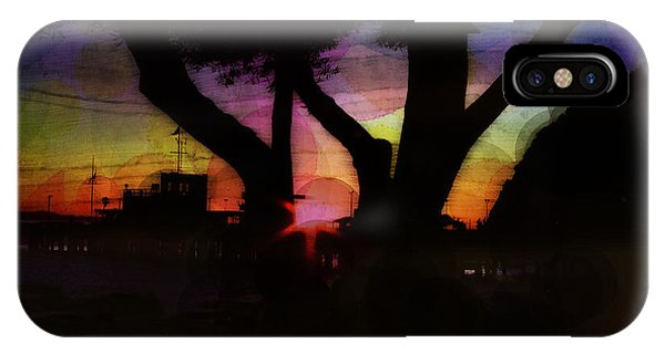 iPhone Case - Sunrise Over The Pier by Julie Acquaviva Hayes
