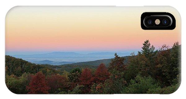 Sunrise Over The Shenandoah Valley IPhone Case