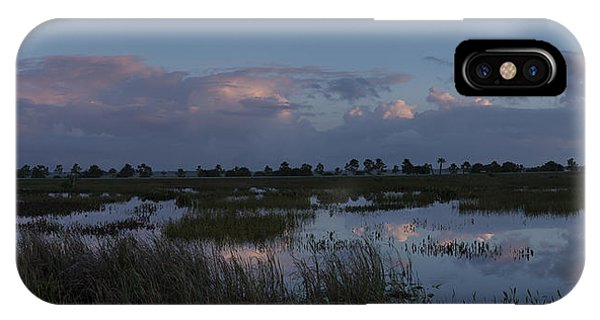 Sunrise Over The Wetlands IPhone Case