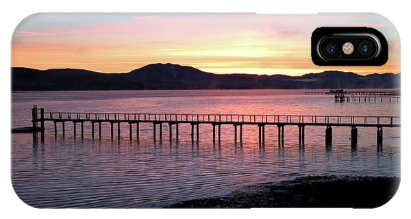 Sunrise Over Tomales Bay IPhone Case