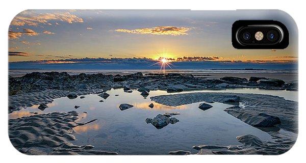 Tidal iPhone Case - Sunrise Over Wells Beach by Rick Berk