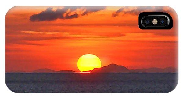 Sunrise Over Western Cuba IPhone Case