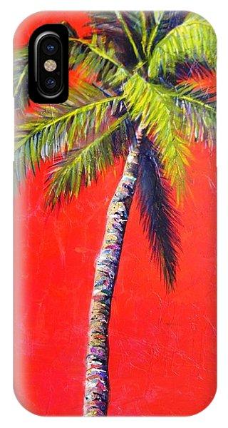 Sunrise Palm IPhone Case