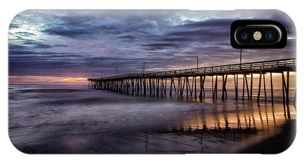 Sunrise Pier IPhone Case